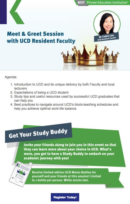 UCD-event