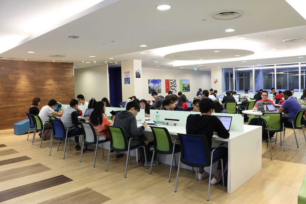 Kaplan City Campus@POMO Study Area