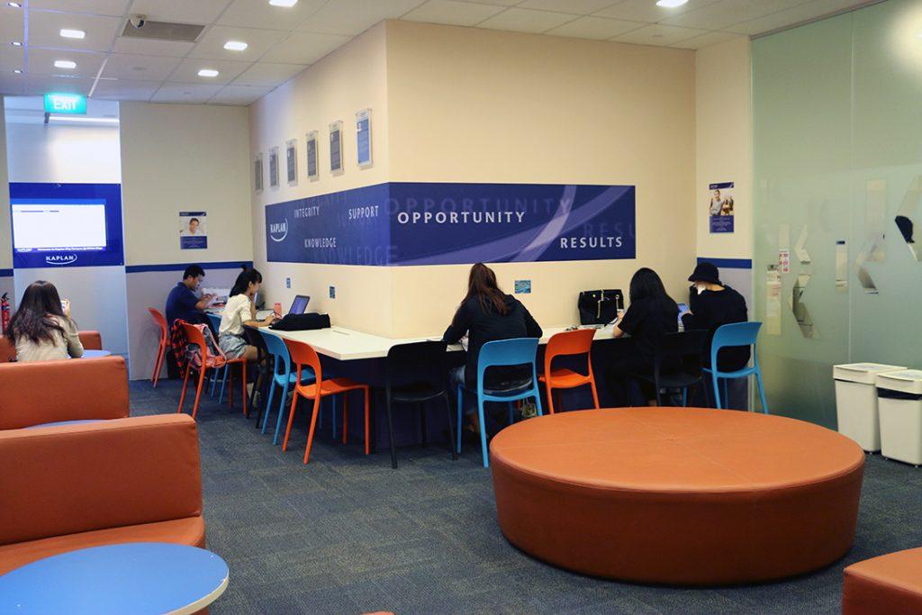 Kaplan City Campus@Wilkie Edge study area