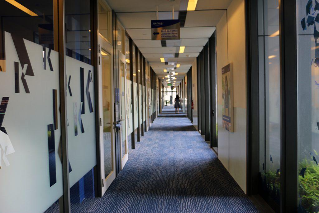 Kaplan City Campus@Wilkie Edge walkway